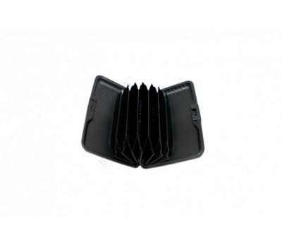Кошелек алюминиевый «МУЛЬТИКАРД» синяя полоска (Aluma wallet)