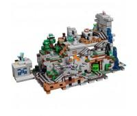 "Лего Майнкрафт Lele/Bela 10735  (аналог lego - 21137) ""Горная пещера"""