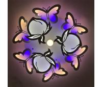 Люстра светильник потолочный с пультом Butterfly LED - хай тек 50452