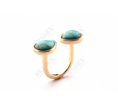 Кольцо «ГЛАЗУРЬ» (Rng SRI150006 turquoise)