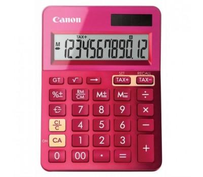 Калькулятор Canon LS-123K-MPK розовый 12-разр.