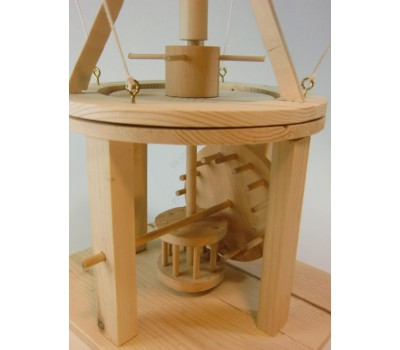 Конструктор из дерева «КАТАПУЛЬТА» Леонардо Да Винчи (Da Vinci Trebuchet Item # D-032)