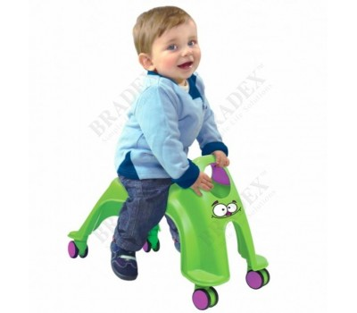 Каталка детская «ВИХРЬ» зеленый (Neon Whirlee)