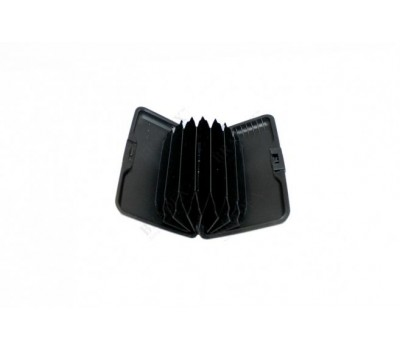 Кошелек алюминиевый «МУЛЬТИКАРД» красная полоска (Aluma wallet)