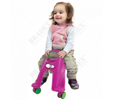 Каталка детская «ВИХРЬ» фиолетовый (Neon Whirlee)