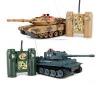 Набор для RC из 2 танков на радиоуправлении