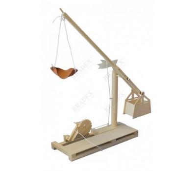 Конструктор из дерева «ОРНИТОПТЕР» Леонардо Да Винчи (Da Vinci Ornithopter Item # D-026)