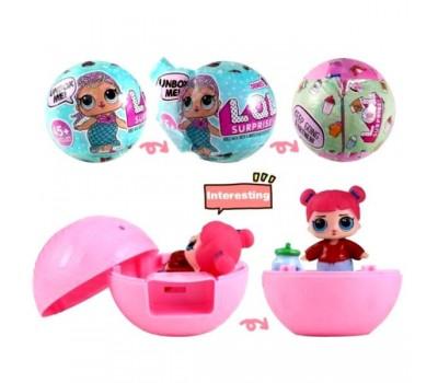 Игрушка Кукла LOL 3 штуки Сюрприз в шарике