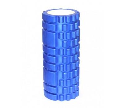 Валик для фитнеса «ТУБА» синий (Deep tissue massage foam roller)