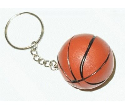 """Брелок """"Баскетбольный мяч"""". Продаётся упаковками. В упаковке 12 шт. МО-05"""