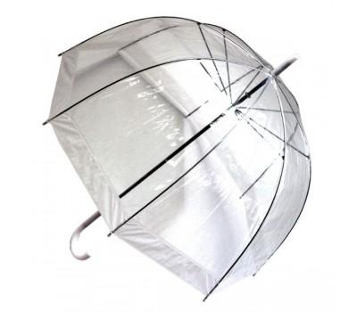 Зонт прозрачный купол белый
